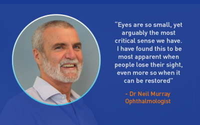 Interview with Ophthalmologist Dr Neil Murray
