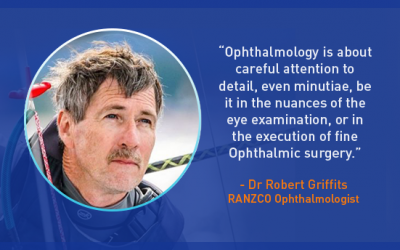 Interview with Ophthalmologist Dr Robert Griffits