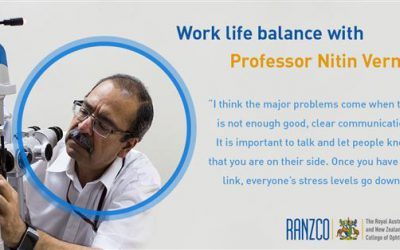 Professor Nitin Verma shares his thoughts on work life balance