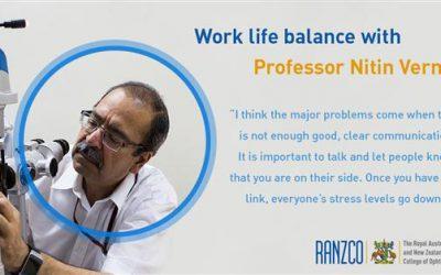 Professor Nitin Verma shares his thoughts on work life balance